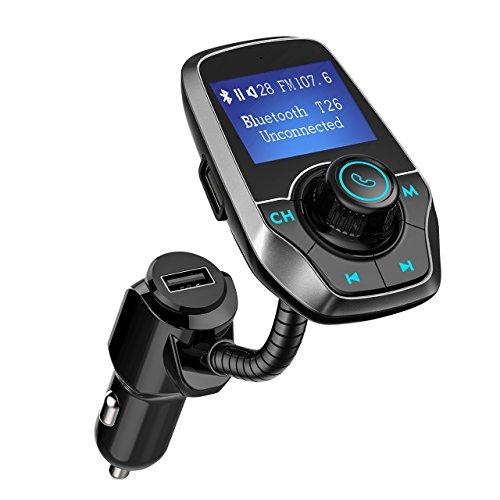 Mpow FM Trasmettitore Bluetooth, Trasmettitore FM...
