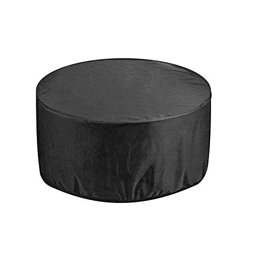 WJBABJ Garden Furniture Covers Outdoor Garden Patio Large Round Waterproof Furniture Table Chair Set Household Multifunction Dust Cover (Color : 4 Seater)