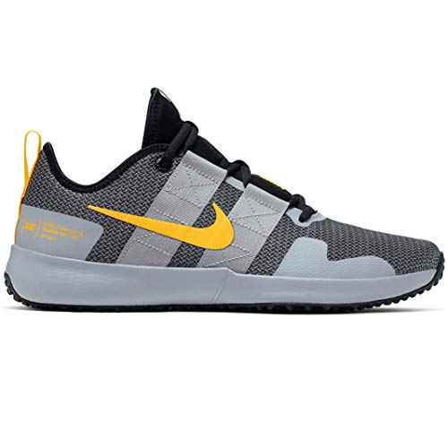 Nike Men's Varsity Compete TR 2 Training Sneakers (10.5, Atmosphere Grey/Laser ORA)