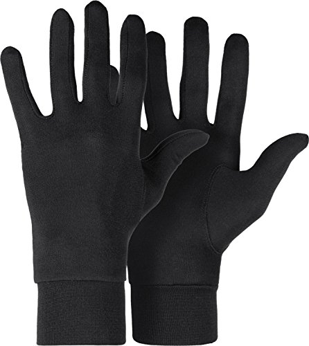 Roeckl Unterziehhandschuhe Silk, Innenhandschuh Unterzieher, Seide, Unisex M