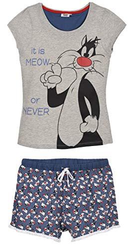 Looney Tunes Mujer Pijama Corto