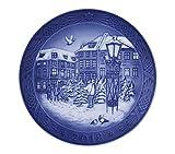 Royal Copenhagen 1024792 Xmas Plate Series RC - Plato de Navidad 2018, porcelana, multicolor
