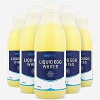 Blancs d'œuf liquides pasteurisés prêts-à-cuisiner Naturellement sans graisses et riche en protéines Convient aussi pour les pâtisseries Origine Union Européenne Contient 0 additifs, 0 conservateurs