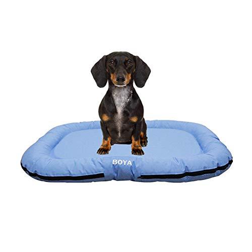 xihan123 Mantas Perros Cama Perro Grande Lavable Cómodo Perros Cama Uso Repetido Colchonetas para Perros para Mascota Cachorro Gatito Conejito Mejorar El Sueño Light Blue