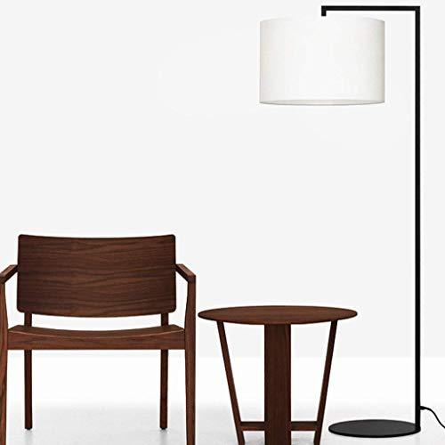 LY88 Licht? L moderne creatieve vloer lamp hoge licht transmissie stof lampenkap slaapkamer staande lamp kleur : zwart