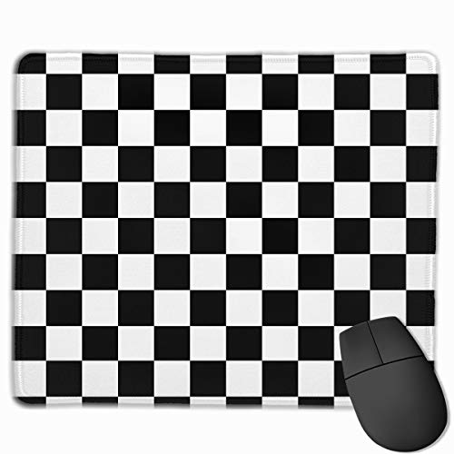 Mouse Pad Checker Board Non-Slip Rubber Gaming Mouse Mat Rectangle Mousepad for Computers Laptop