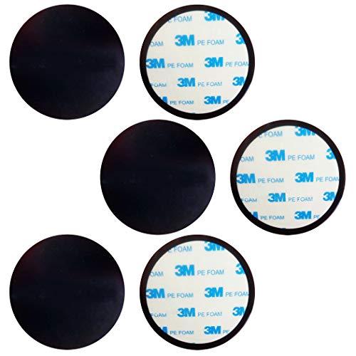 HAMILO 吸盤用ディスク ダッシュボード取り付け 台座 吸盤用ベース 6枚セット