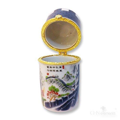 En porcelaine de qualité supérieure avec motif Oriental sur la muraille