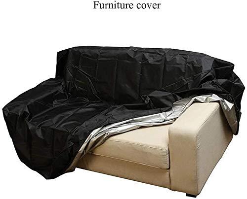 Covers - Funda protectora para muebles de jardín, silla de exterior, resistente al agua, resistente al polvo, antideslizante, ajustable
