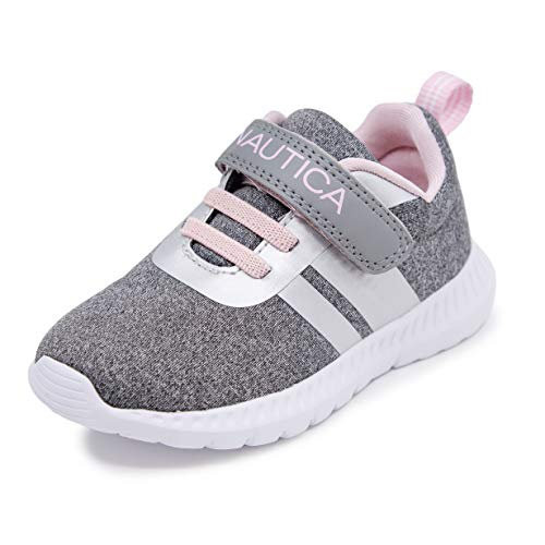 Nautica Kids Boys Fashion Sneaker Slip-On Athletic Running Shoe for Toddler and Little Kids-Mattoon-Black