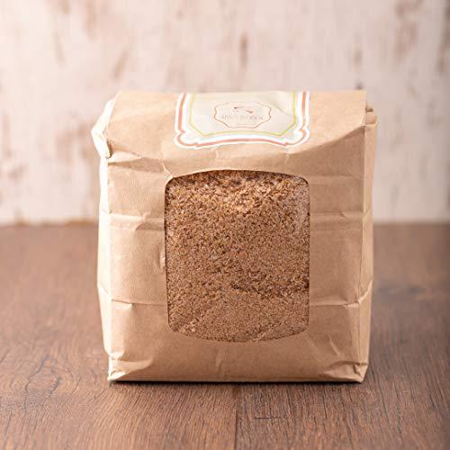 süssundclever.de® Bio Weizenkleie 5 x 700 g | Low Carb | aus Deutschland | Premium Qualität | plastikfrei abgepackt
