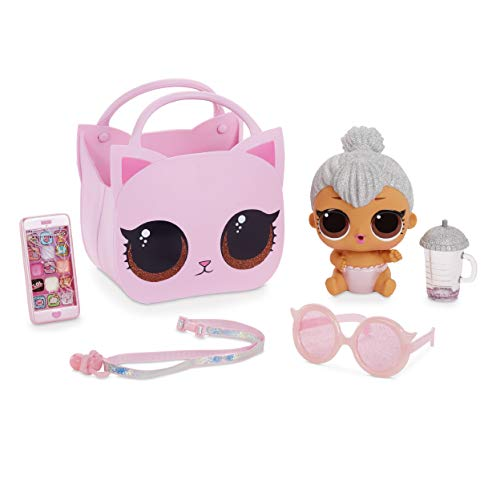 LOL Surprise Muñecas de Moda Coleccionables , Con Bolso y Sorpresas de Maquillaje , Lil Kitty Queen , Ooh La La Baby Surprise