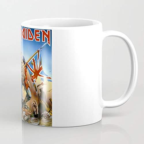 ZIQIBINGYANZIYU Iron Maiden - DER Trooper 325 ml Kaffeetasse