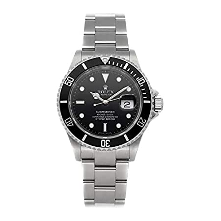 Fashion Shopping Rolex Submariner Mechanical (Automatic) Black Dial Mens Watch 16610 (Certified Pre-Owned)