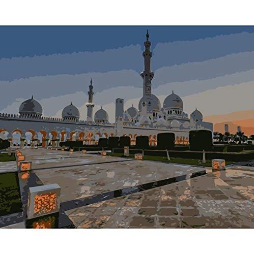 WACYDSD Puzzle 1000 Teile 3D Puzzle Sheikh Zayed Mosque Kit Wandbilder Wohnkultur