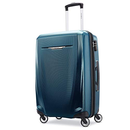 Samsonite Winfield 3 DLX Hardside Expandable Luggage with Spinners, Navy
