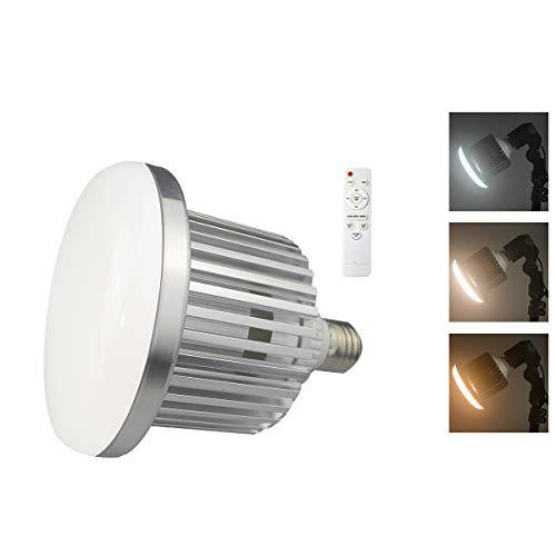 Hersmay 85W 5500K-3200K Dimmbar E27 LED Videolicht Softbox Studio Dauerlicht Kit für Kamera Foto Video Fotografie mit drahtloser Fernbedienung
