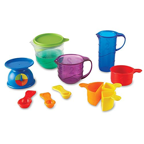 Learning Resources Mix And Measure Activity Set, Experiment Mixing Tools, 22 Pieces, Ages 3+,Multi-color