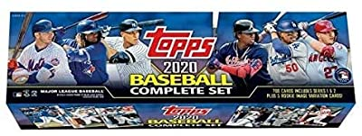 Megacards 2020 Topps Baseball Complete Sets Retail Box