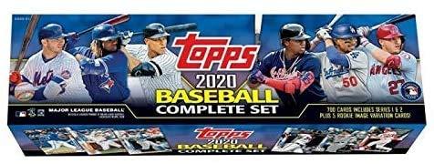 Megacards 2020 Topps Baseball-Komplettsets in Einzelhandelsverpackung.