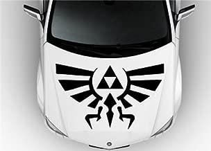 Hood Auto Car Vinyl Decal Stickers Zelda - Hylian Crests Badass Wall Art Sticker Decal 7418