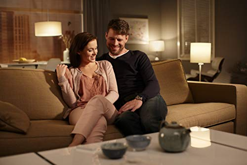 Philips Hue White LED Lampe 9,5 W, EEK A+, A60 E27 Starter Set inklusive Bridge, 2-er Set - 7