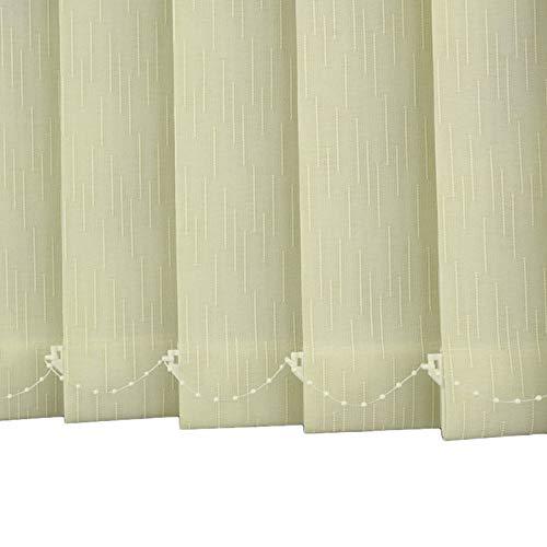 Persiana de Aluminio Persiana Vertical de Oficina en Casa, Mini Persiana de Filtrado de Luz, Panel de Cortina de Puerta de Patio con Oscurecimiento Térmico 60/80/90/100/120/140 cm de Ancho
