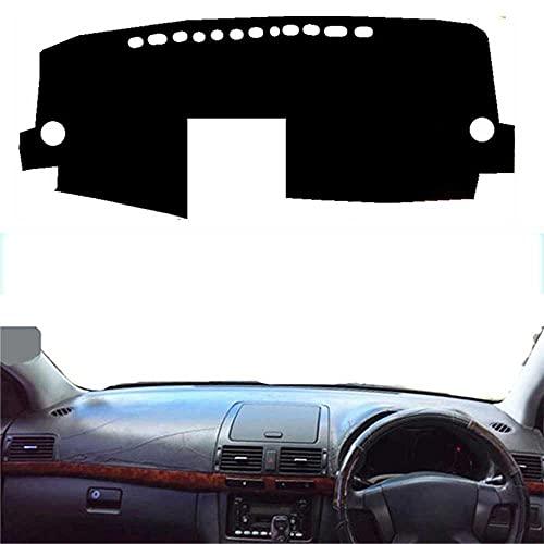 MIOAHD Alfombrilla para salpicadero de Coche, cojín para Alfombra, Parasol, Tablero para salpicadero, Apto para Toyota Avensis 2005 2006