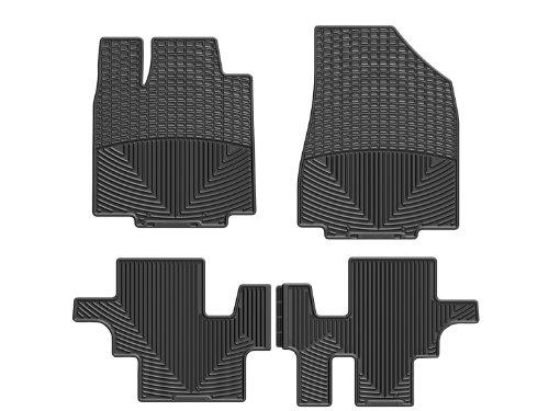 WeatherTech (WTHB293150) Floor Mat, Rubber, Front/Rear, Black