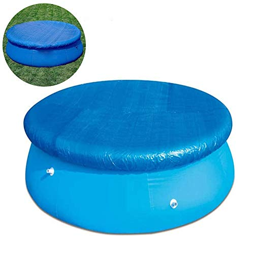 Cobertor piscina hinchable Cubierta Para Clima Piscina PE Redonda Cubierta Polvo cubierta...