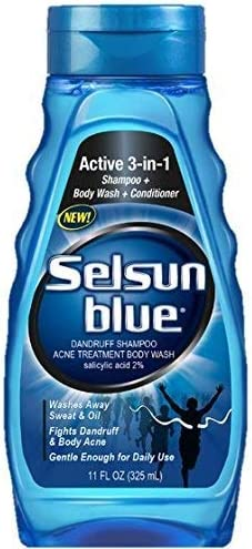 Selsun Blue Active 3-in-1 [Alternative dealer] Body fo Wash and Shampoo Conditioner National products
