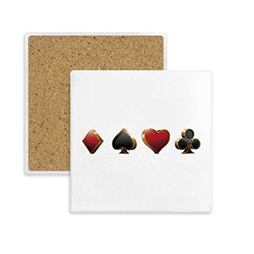 Personalizado corazón de impresión de imagen de San Valentín Día 9cm x 9cm Plaza Mdf Coaster