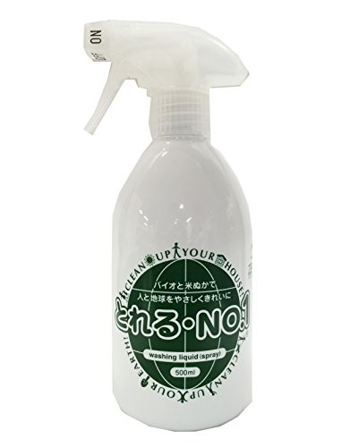 地球洗い隊『とれるNO.1 スプレーボトル500ml(reg-1)』
