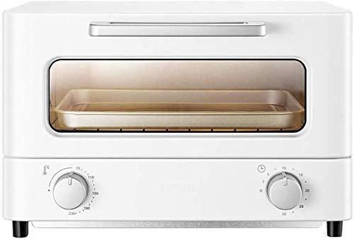 Horno eléctrico Mini pequeñas protuberancias doble se puede hornear la sincronización de múltiples funciones de la torta de pan pequeño horno de cocina (Tam (color:. Blanca) peng ( Color : White )