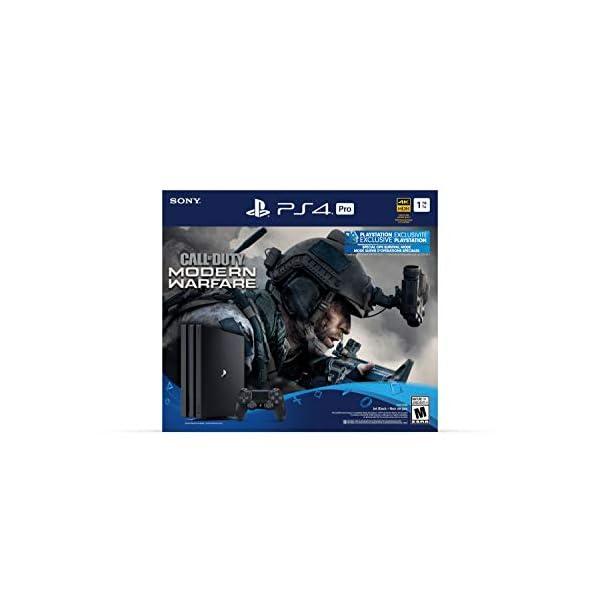 PlayStation 4 Pro 1TB Console – Call of Duty: Modern Warfare Bundle