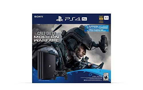 PlayStation 4 Pro 1TB Console - Call of Duty: Modern Warfare Bundle