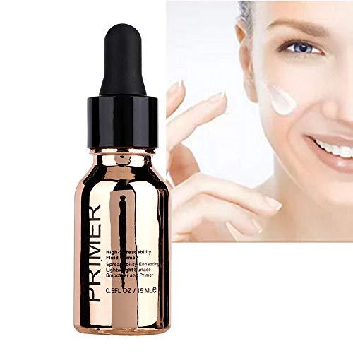 Gesichtsgel, 24K Goldfolie Gesichts Gel Make-up Primer Feuchtigkeitsspendende Hautpflege Gel zum Befeuchten und Verfeinern von Poren 15ml