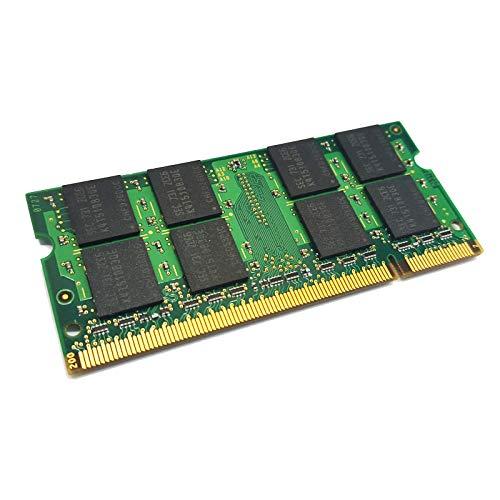 dekoelektropunktde 2GB Ram Speicher DDR2 kompatibel für Samsung N220P R520 Q1UP-XP | Alternative Komponente, Arbeitsspeicher PC2