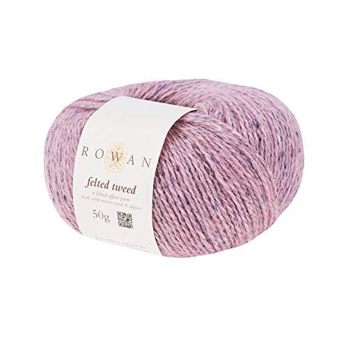 Rowan Z036000-00185 Handstrickgarn, 50% Wolle, Viskose, 25% Alpaka, Frozen, OneSize