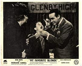 My Favorite Blonde Original Lobby Card Bob Hope Gale Sondergaard 1942