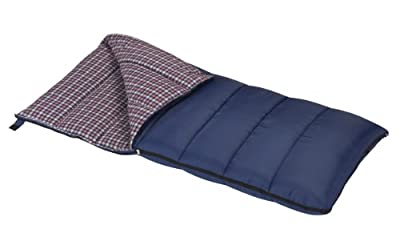 Wenzel Blue Jay 5-Pounds Rectangular Sleeping Bag (Blue)