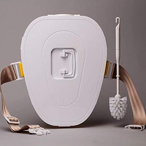 XIEZI Camping Toilette Voyage Voiture Toilette Mobile Voiture Toilette Vieille Voiture Adulte Trousse De Toilette Enfant Toilette Toilette Portable, Convient Aux Adultes Et Enfants,Camping R