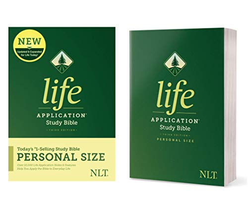 Compare Textbook Prices for Tyndale NLT Life Application Study Bible, Third Edition, Personal Size Softcover – New Living Translation Bible, Personal Sized Study Bible to Carry with you Every Day Expanded, Updated Edition ISBN 9781496440068 by Tyndale