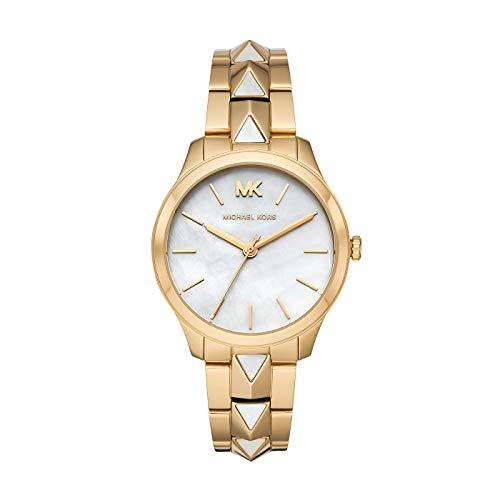 Michael Kors dames analoog kwarts horloge met roestvrijstalen armband MK6689