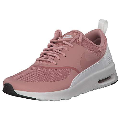 Nike Damen Sneaker Air Max Thea Sneakers, Mehrfarbig (Rust Pink/Rust Pink/Summit White/Black 001), 43 EU