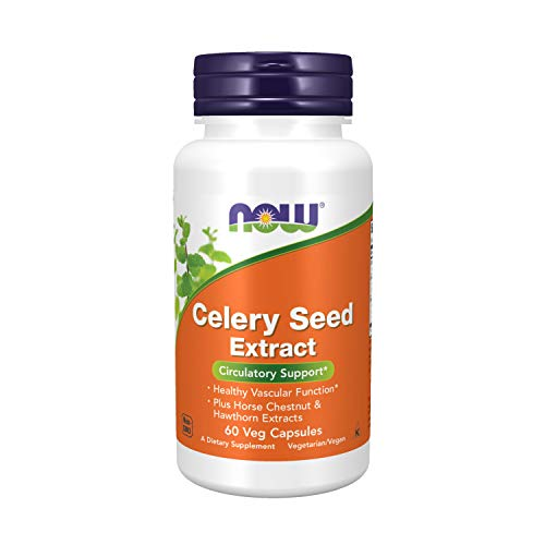 Now Foods Celery Seed Extract - 60 Vcaps - 60 Cápsulas