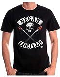 cotton division Negan Lucille Rockers T-Shirt, Nero, M Uomo