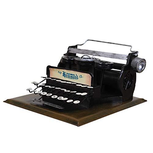 Vintage Schreibmaschine Modell Metallschreibmaschine bastelt Bardekoration Fotografie Requisiten Handicrafts