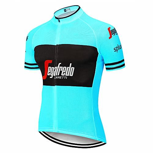Maglia Ciclismo Estivo Team Uomo Abbigliamento Ciclismo Traspirante Ciclismo Maglie Professionisti