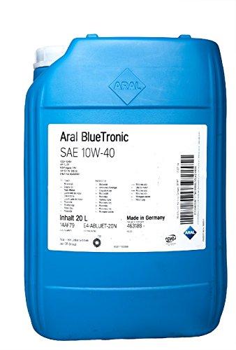ARAL BlueTronics 10W-40 Motorenöl, 20 Liter